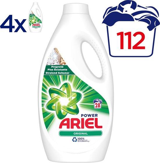 Ariel Original - 4 x 28 Wasbeurten - Vloeibaar Wasmiddel