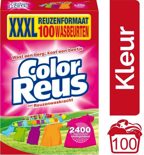 Color Reus Waspoeder - Poeder Wasmiddel - Voordeelverpakking - 100 wasbeurten
