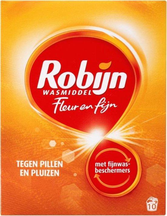 Robijn Fleur & Fijn Waspoeder - 7 x 10 wasbeurten - Wasmiddel - Voordeelverpakking