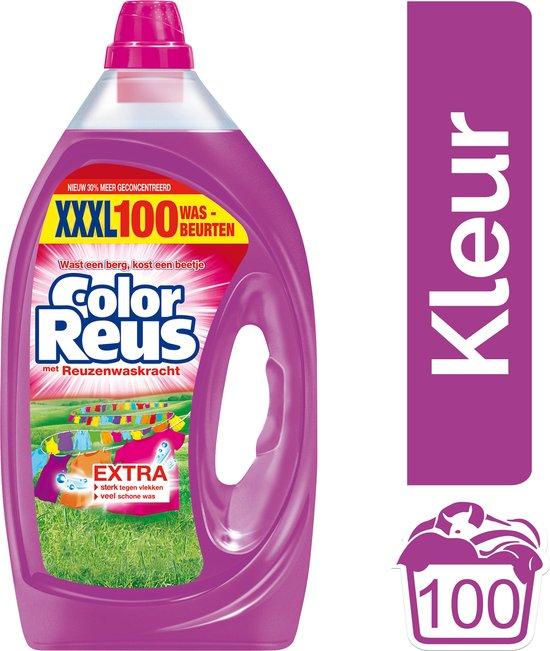 Witte Reus - Color Reus Gel - Vloeibaar Wasmiddel - Gekleurde Was - Voordeelverpakking - 100 wasbeurten