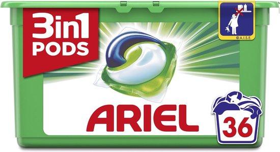 Ariel 3in1 Pods Original - 36 Wasbeurten - Wasmiddelcapsules