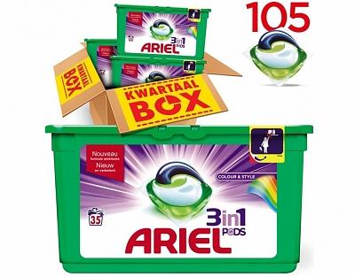Ariel All-in-one Pods Regular 105 Wasbeurten