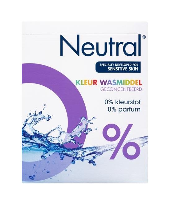 Neutral Hypo allergeen Waspoeder - Color 45 Wasbeurten