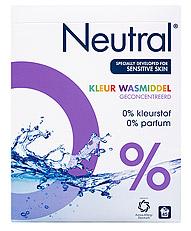 Neutral Waspoeder Kleur Parfumvrij 45 Wasbeurten 3kg